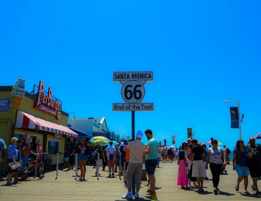 Food, Fun & Flowers: A Day in Santa Monica - I'm Taking Off - A Travel Blog