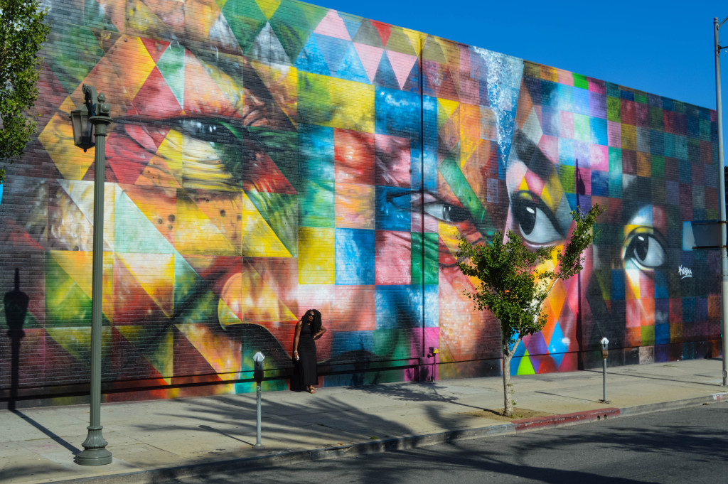 Los Angeles' Best Street Art - I'm Taking Off - A Travel Blog